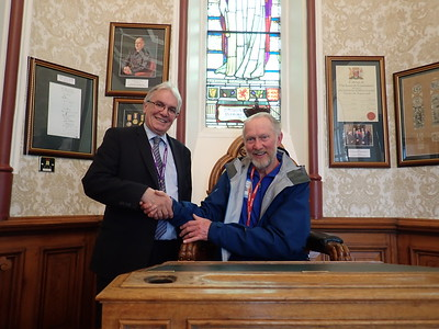 Councillor Graham Ross, Deputy Provost Inverness