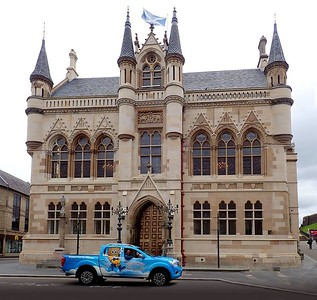 """""""Baby Bluebell"""" at Inverness Town Hall"""