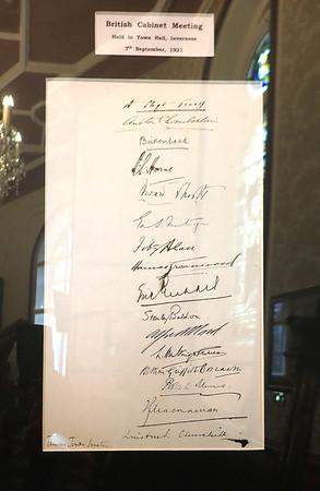 Winston Churchill's signature