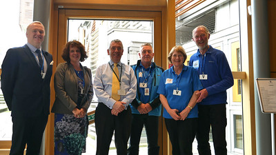 Meeting with David Stewart MSP
