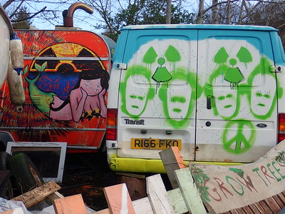 Nuclear Faslane Peace Camp