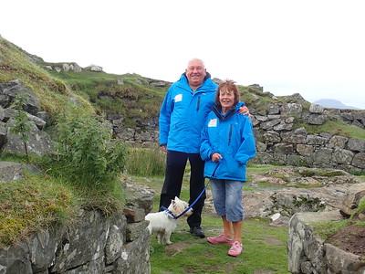 Brian Gallon and Jean Daley visit Brian