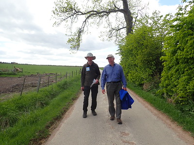 Ian Campbell drives from Aberdeen to walk with Brian