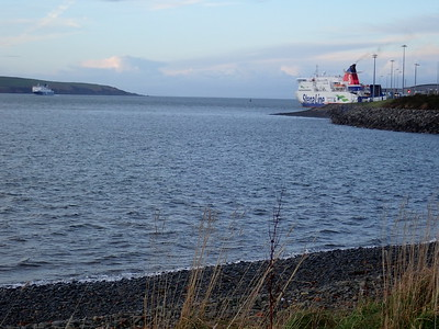 Walking Loch Ryan Port