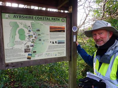 Walkign the Ayrshire Coastal Path