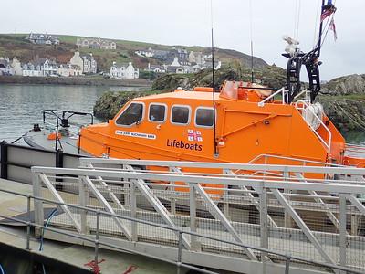 RNLI at Portpatrick.