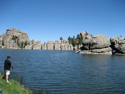 Sylvan Lake ~6200ft.