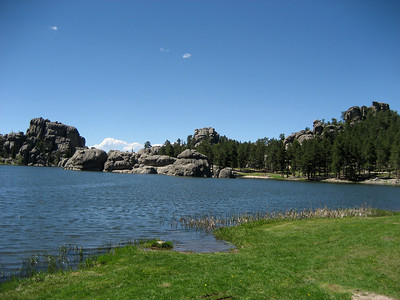 Sylvan Lake again ~6200ft.
