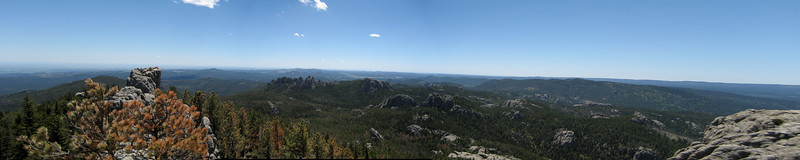 Harney Peak Lookout Tower ~7200ft.
