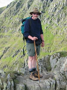Richard Donkin, Striding Edge, Helvellyn, August 31, 2004