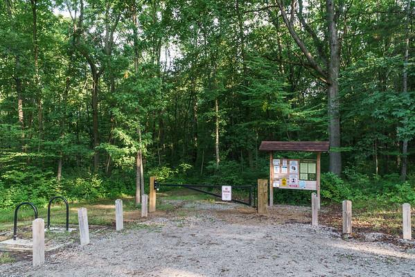Parking Lot at Baker Woods Preserve