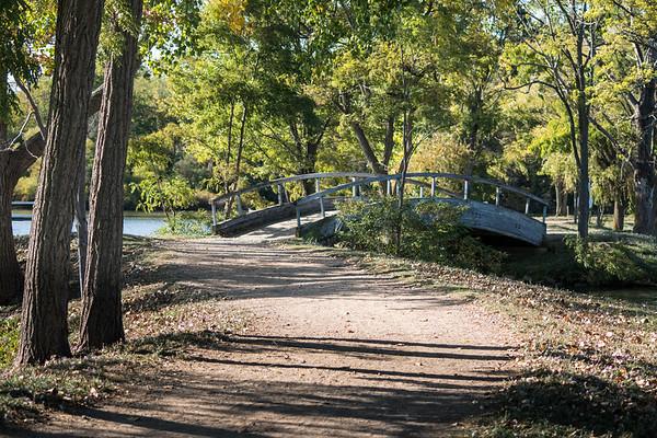 The causeway at North Bay Park