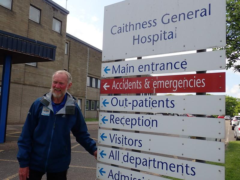 Visiting Caithness Hospital