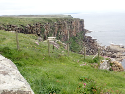 Robert Stevenson Lighthouse at Dunnet Bay