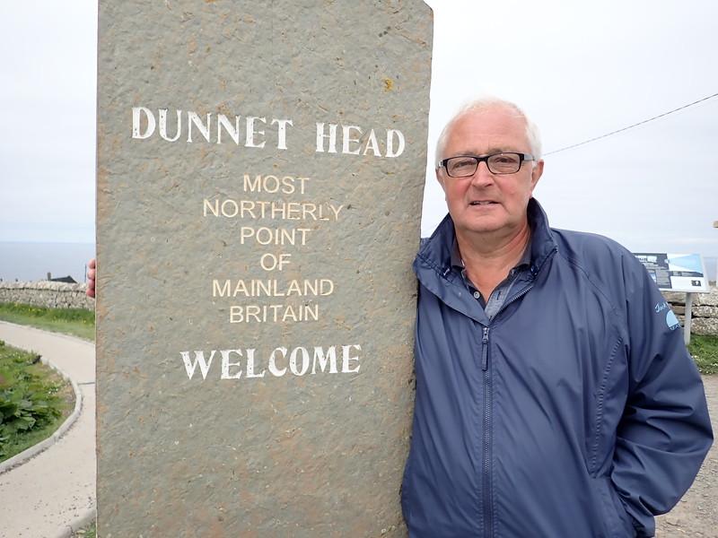 Robert Stevenson Lighthouse at Dunnet Bay