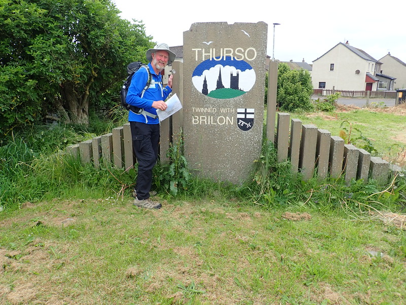 Arrival in Thurso, Northern Scotland