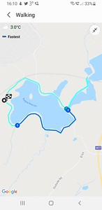 Our Walk, just over 3 miles