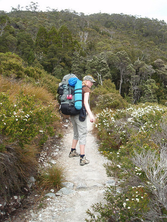 Kate and Tess on the Overland Track