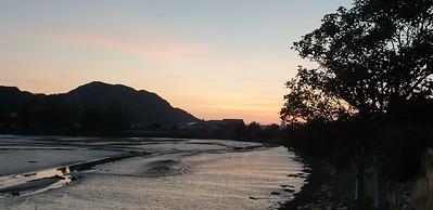 Llyn Bach Walk at sunset 28 August 2021