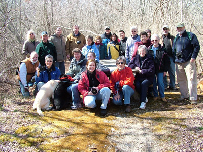 The 2007 Photography walk group.  photo by Larry Brownell