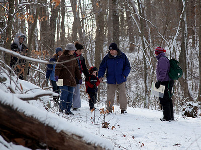 Quinn School Animal Track Walk.  Photo by Lyn Keith.