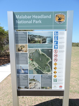 Western Escarpment walking track , Malabar Headland National Park, Sydney, NSW - Australia