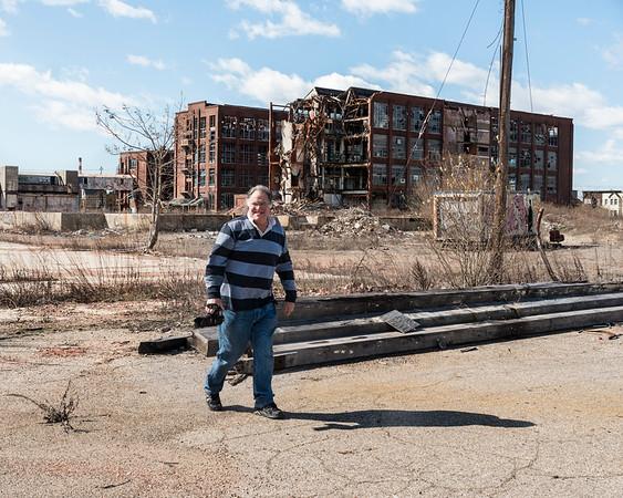 Urban photographer in Bridgeport