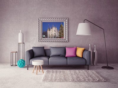Example of my Wall Art: Milan Cathedral