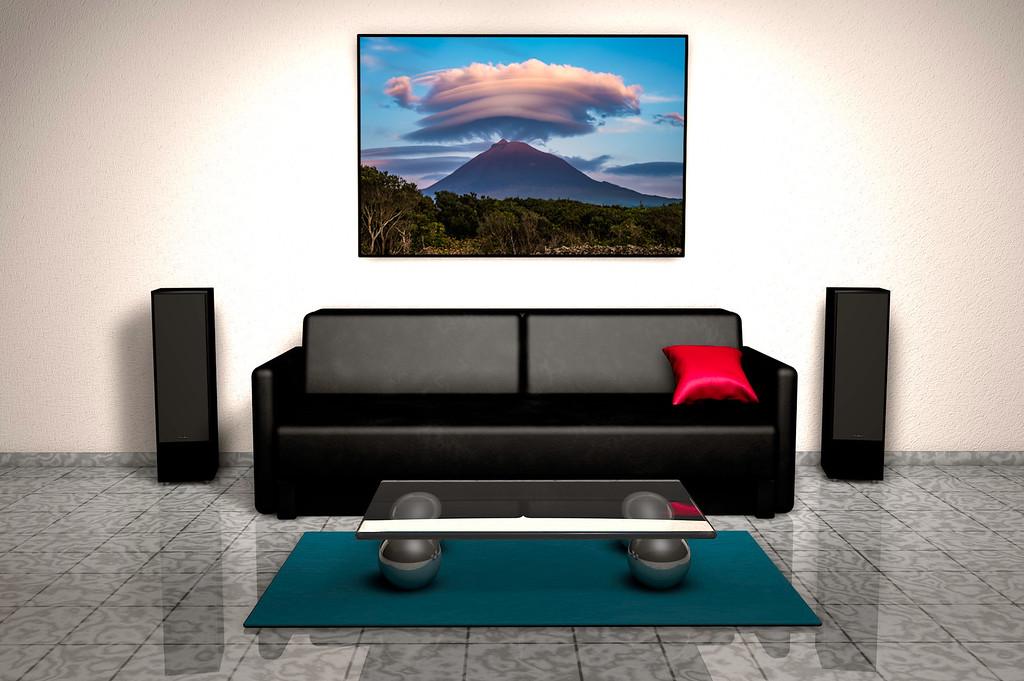 Sofa-Stilleben