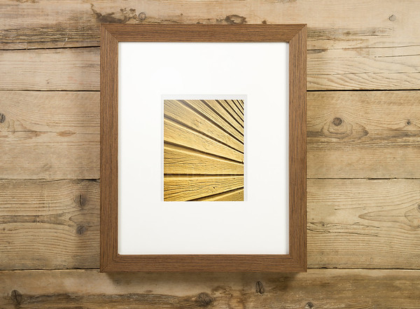 Yellow Wall Framed