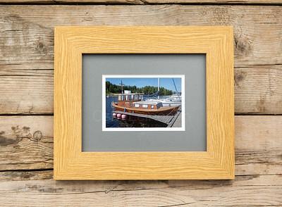 Ship Named Leisku Framed