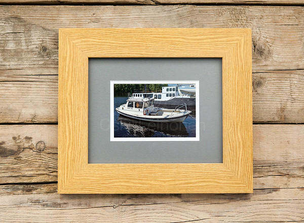 Myrsky Janne Named Boat Framed