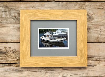 Myrsky Janne Named Boat Framed