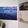"""Here are two of my favorite pictures' wall art prints: """"Somewhere"""" and """"Meisho Maru"""". I shot with a smartphone, but the photo gives an idea of what my pictures can add to the interior design. In this case it is a very modern and minimalist home, but I will also add some examples with different house styles. Comments are welcome!"""