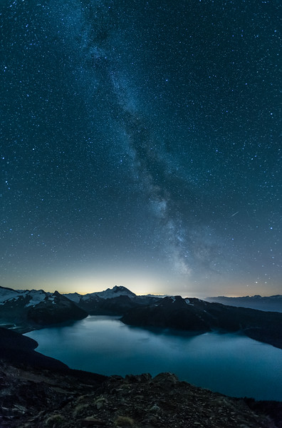 Milky Way over Garibaldi Lake