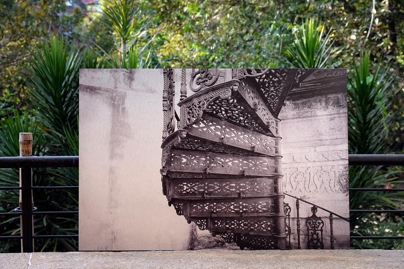 B & W Stairway