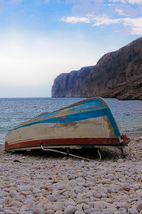 Overturned Boat - Greece
