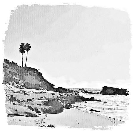 Pacific Coast - Laguna  Beach, California