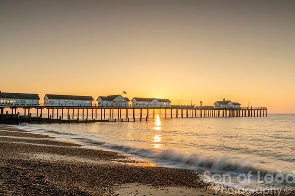 Sunrise at Southwold - Suffolk
