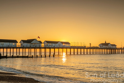 Sunrise at Southwold - Suffolk