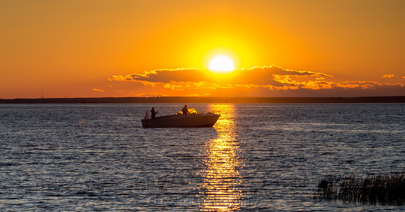 fishing sunset  (1 of 1)