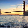 Golden Gate at the Golden Hour