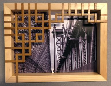 Manhattan Bridge with Lattice