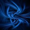 Wisps of blue