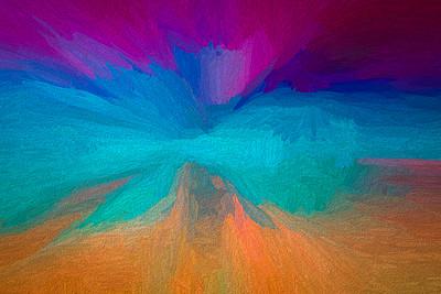 Texture Rainbow Print