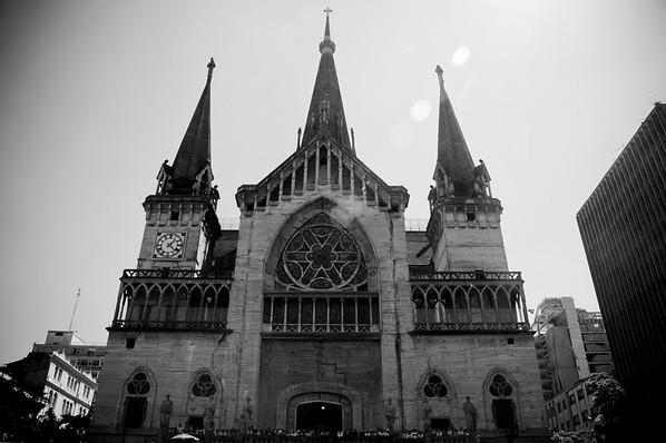 The Cathedral in Manizales. (La catedral de Manizales).