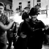 Tango dancing in the streets of San Telmo (Buenos Aires)
