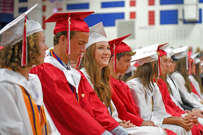 Wall High School held their Commencement Exercises for the Class of 2019 in their gymnasium on Thursday June 20, 2019. [ALYSSA RASP | THE COAST STAR]