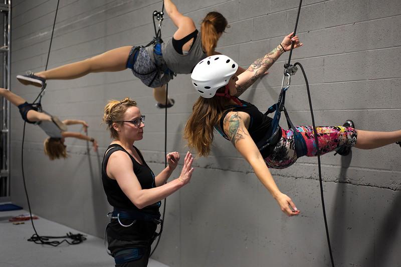 Iluminar Aerial Wall Dance Class
