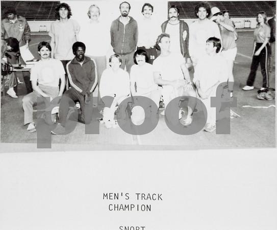 Men's Track Champs, Snort, 1979-80